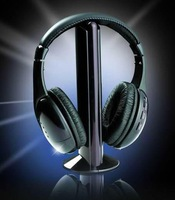 FREE SHIPPING/SAILIKE Wireless Headphones/5-1/ multimedia computer headset/ with FM stereo headset /wireless headset