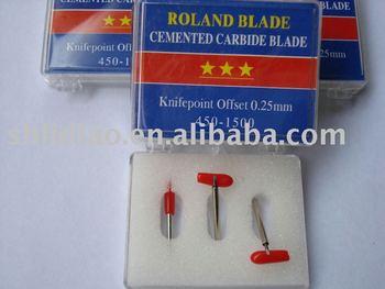 3x 45* ROLAND CRICUT GCC VINYL CUTTER PLOTTER BLADE