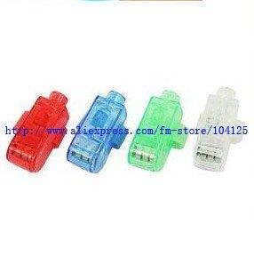 2011 magic free shipping 800pcs/lot LED Light flash laser finger mini glow beams rings torch for kids(China (Mainland))