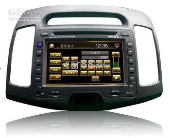 Car DVD player for Hyundai Elantra with DVD ,radio, Bluetooth, GPS, DVB - T(option), USB, SD, IPOD, MP4
