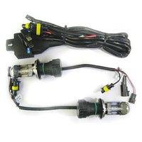 35W 12V HI-LOW Car HID BI-XENON Headlight Bulb Lamp Light Kit H4 H4-3 4300K Wholesale & Retail [C103]