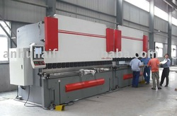 united metal sheet hydraulic press brake,united hydraulic bending machine 2-WC67Y-500T6000(China (Mainland))