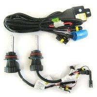 35W 12V HI-LOW Car HID BI-XENON Headlight Bulb Lamp Light Kit 9007-3 9007 12000K Wholesale & Retail [C135]