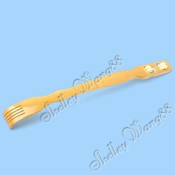 Wooden Bamboo Body Massage Massager Back Scratcher Wholesale/retail
