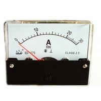 Wholesale Professional Analog Panel AMP Meter AC/DC30A Ammeter Free Shipping [EP152]