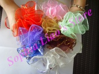 Wholesale Organza Gift Drawstring Pouch Bags for wedding/business 2000pcs/lot