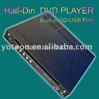 Car HALF DIN DVD / ShenZhen YOTOON / CAR 1/2 DIN  In-Dash DIVX/MP3/CD/DVD Player+USB/SD Slot  CAR HALF-DIN DVD  CAR 1/2DIN DVD