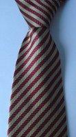 wholesale   brand new 100% Silk Wove Stripe Men's Neck Tie 150 Style no21