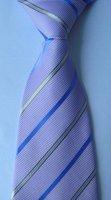 wholesale   brand new 100% Silk Wove Stripe Men's Neck Tie 150 Style no23