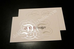 Double Sided Spot UV Business Card Printing(500pcs/lot), Free Shipping(China (Mainland))