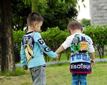 Free shipping_2010 winter long sleeve  New edition fashion JAM-children leisure wear_7 pcs/set,High Quality,hot sale!