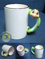 JETYOUNG Animal Coated Mug for Sublimation Ink or Heat Transfer -SNAKE MUG, photo mug, special gift, 36pc/pack DIY gift