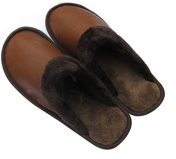 Autumn winter slippers sheepskin floor board special household slippers family warm slippers slippers