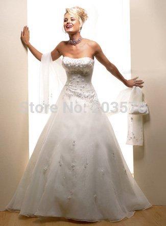 Frete grátis! Vestidos de casamento vestido novo / noite / size4-18(China (Mainland))
