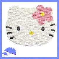 10pcs/lot Hello Kitty Non Slip anti-slip Mat Car Auto Accessories & Free Shipping
