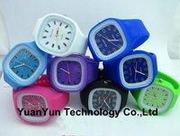 New colorful Led watch jelly watch fashion watch 50pcs/lot+Free shipping