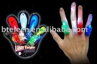 led finger light,laser finger light,mini flashlight
