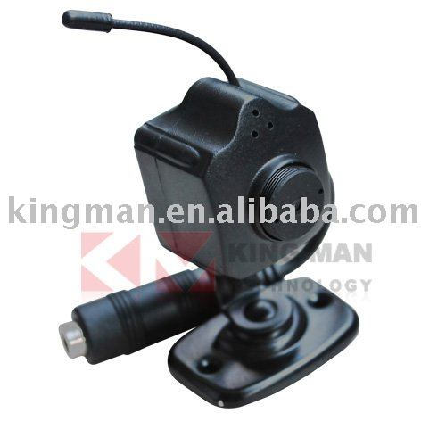2.4G Wireless Mini Color CMOS Audio video Color AV Camera + Free Shipping(China (Mainland))