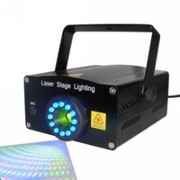Laser stage lighting - HRS005 Red Laser Stars Light Show Special Effects Stage Projector - freeshipping