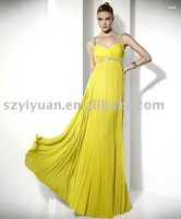 Promotion hot sale elegant chiffon formal dress