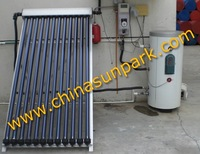 flat solar water heater system for homes 200L