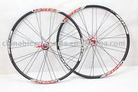 TBM Alloy Black Mountain bike Wheel set with 28 holes /bicycle parts
