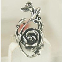 Korean Style fahion big rose Ring(China (Mainland))