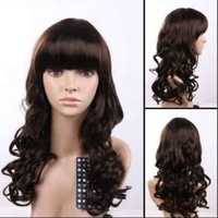 long curl accessoires femmes perruque hair wigs Free shipping
