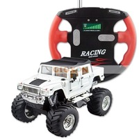 Gift for Christmas, RTR 1:52 Mini RC Radio Remote Control Truck Car Jeep white color