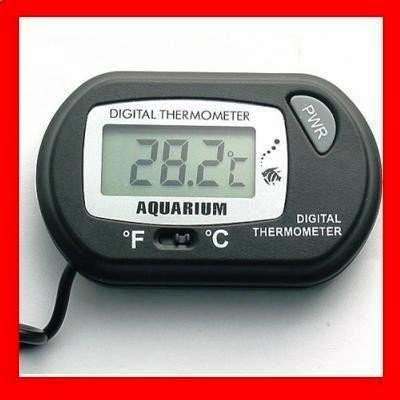 Free shipping Mini Digital Aquarium Fish Tank Thermometer Sensor Aquarium Thermometer(China (Mainland))