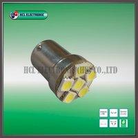 Free shipping, 5pcs/ lot,1156 LED car light, front signal light, 6pcs Ultra Bright 5050SMD (white,red,blue,yellow)/Retail