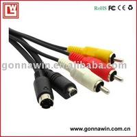 Free shipping/Digital Camera Cable/AV Cable for SONY VMC-30FS/Camera AV Cable/Camera Cable
