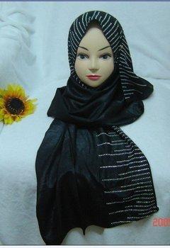 Shining hotsale mix color Ironed ablazely rectangle satin scarf YM102993