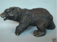 Exquisite Chinese bronze statue bears 100% free shipping