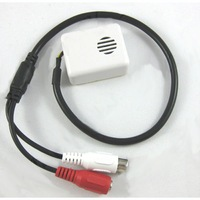 MINI AUDIO CCTV MICROPHONE MIC FOR SECURITY DVR CAMERAS