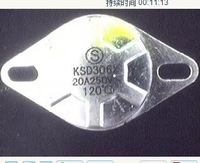 KSD306X KSD302(X)T 250V20A 120Degree Bimetal Thermostat manual reset