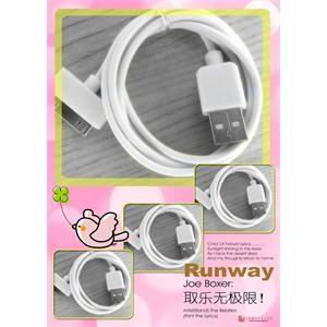 USB Cable for iPod Touch Iphone 4 3G 3GS&Free shipping