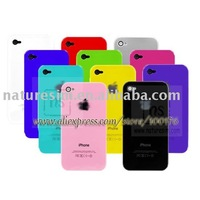 For iPhone 4 Chrome Case Cover + Free Shipping