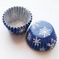 tart /cake /chocolate paper cases cupcake---- snowflakes  7000pcs/box/lot