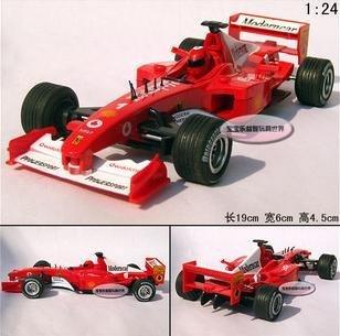 Free shipping--Wholesale and retai 1:24 F1 Formula Racing / audio version of alloy car models/ Christmas gift