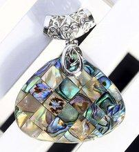 MOP Abalone Shell Triangle Pendant Beads  a2386-103 Freeshipping(China (Mainland))