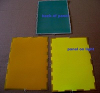 EL Panel Sheet Pad Back Light Display Backlight/ cut any design as you like-Yellow