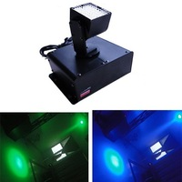 LED mini square moving head light RGB spot lighting