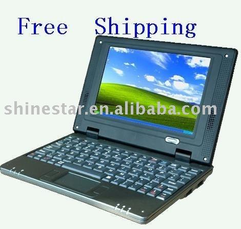 """O envio gratuito de Mini Netbook 7 """" 2 GB melhor presente para o miúdo cor branca(China (Mainland))"""