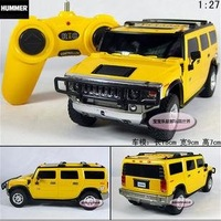 Free shipping--Wholesale and retai 1:27 Hummer H2 SUV / remote control car model/ Christmas gift