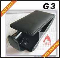 Free shipping --New high quality leather case cellphone for HTC  G3