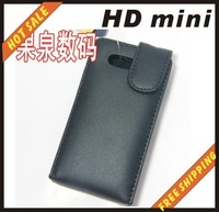 Free shipping --New high quality leather case cellphone for HTC  HD2 MINI