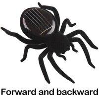 Hot sale:Novel Solar Powered Spider Black Toy Gift