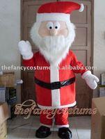 Christmas Santa Mascot Costume Hallowmas Christmas Carnival Party Dress