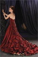 Most economical 2011 New Arrival A-LINE princess Wedding dress cheap Bridal Dress hot sale  color free HY-15867